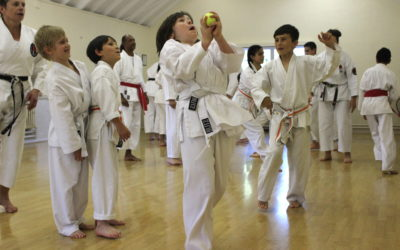 Karate, kids and exercise