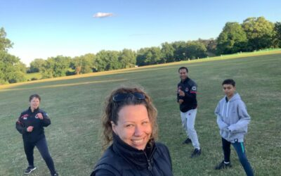 Karate Training Outside – One Step Closer To The Dojo!