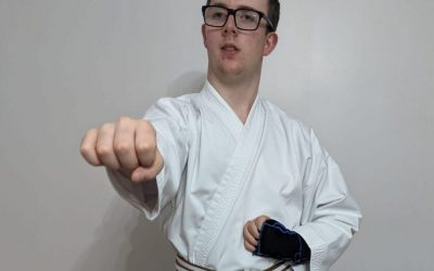 Disability won't get in the way of Adam's karate black belt